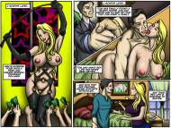 IllustratedInterracial  Recession Blues - Wife Forced to Strip