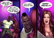 Blacknwhitecomics - KEEPING IT UP FOR THE KARASSIANS   COMPLETE STORY